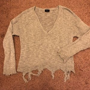 Vici Collection Distressed Sweater